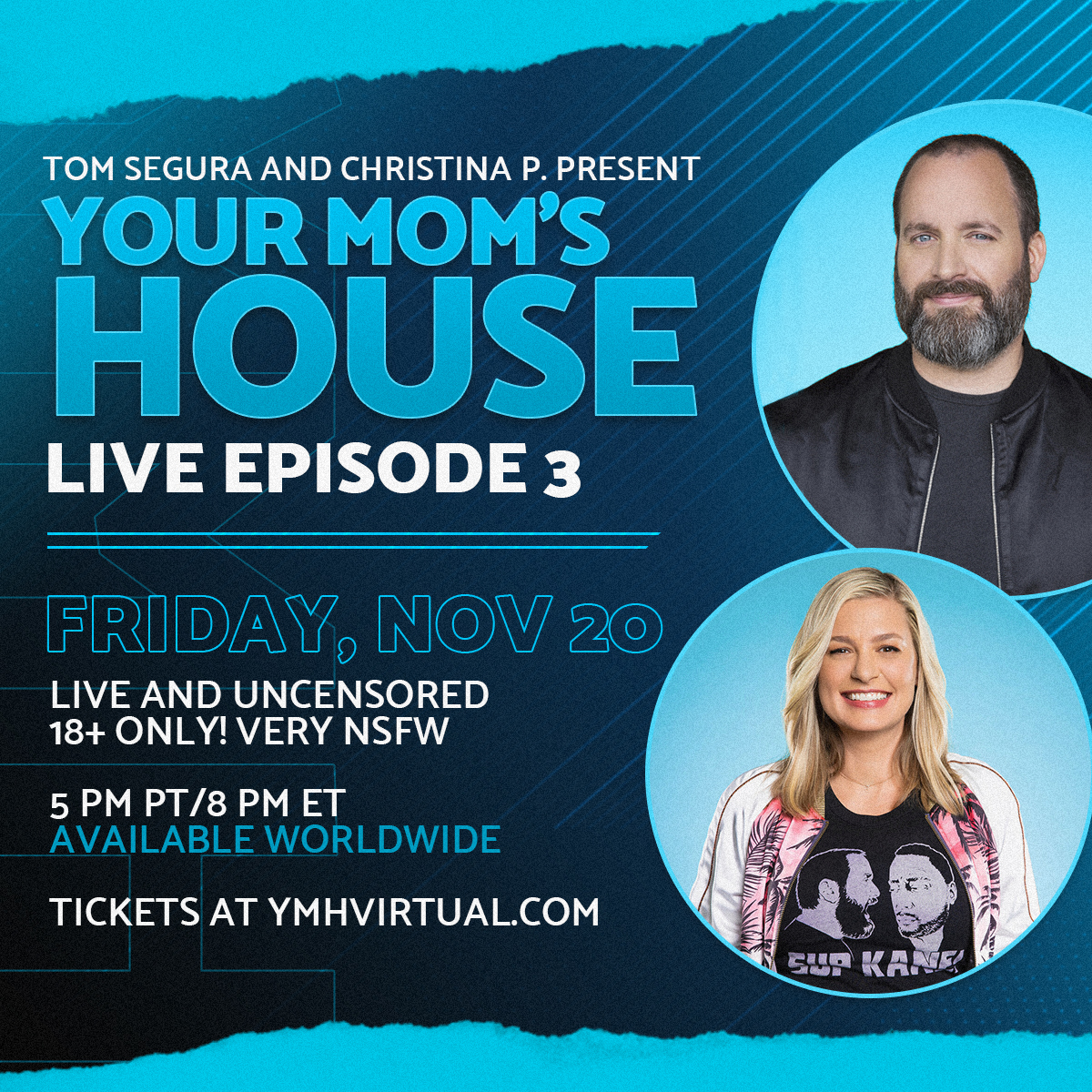Your Mom's House LIVE - Episode 3